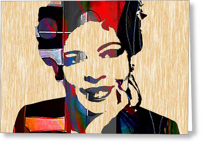 Billie Holiday Collection Greeting Card