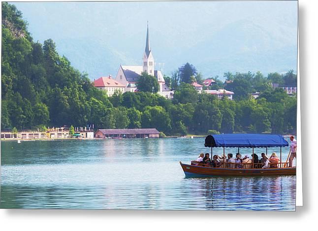 Bled, Slovenia Greeting Card by Ken Welsh