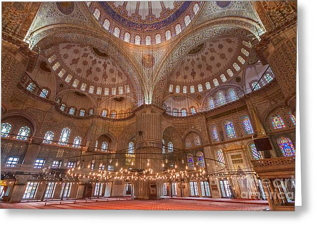 Blue Mosque Istanbul Greeting Card
