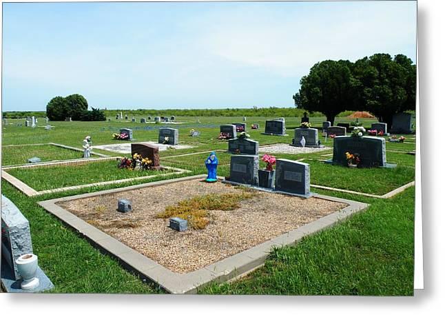 Bomarton Catholic Cemetery 4 Greeting Card