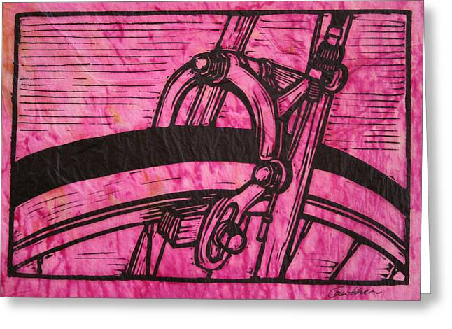 Brake Greeting Card by William Cauthern