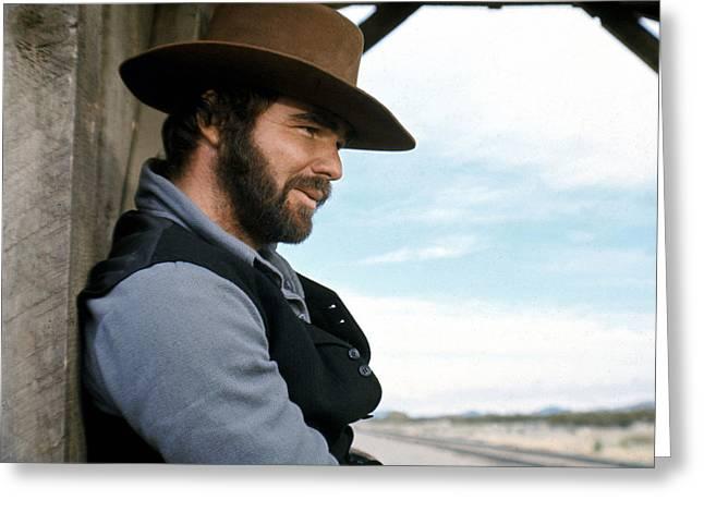 Burt Reynolds Greeting Card