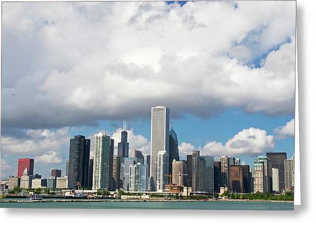 Chicago Greeting Card by Jim West