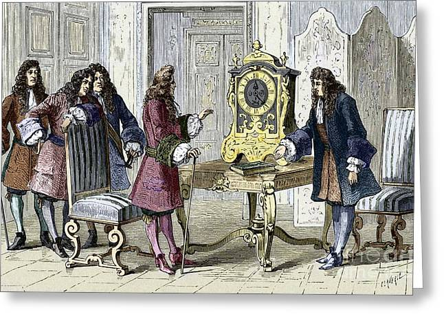 Christiaan Huygens, Dutch Physicist Greeting Card