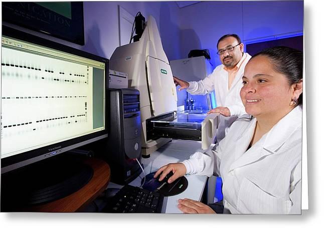 Citrus Greening Disease Research Greeting Card