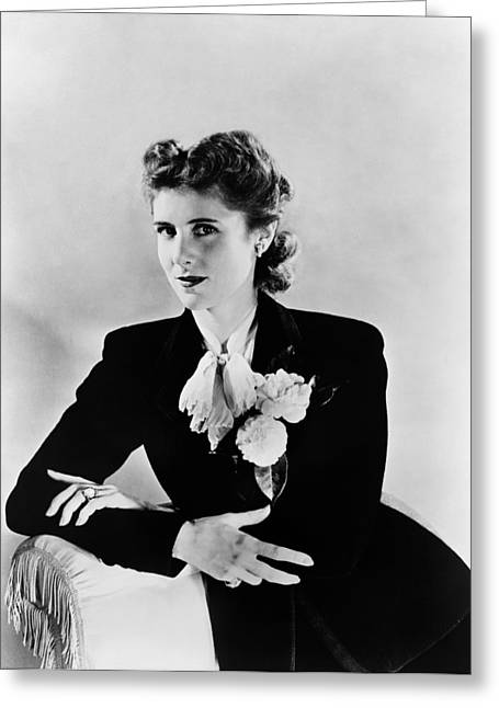 Clare Boothe Luce (1903-1987) Greeting Card by Granger