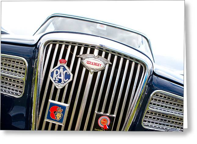 Classic Car Greeting Card by Fizzy Image