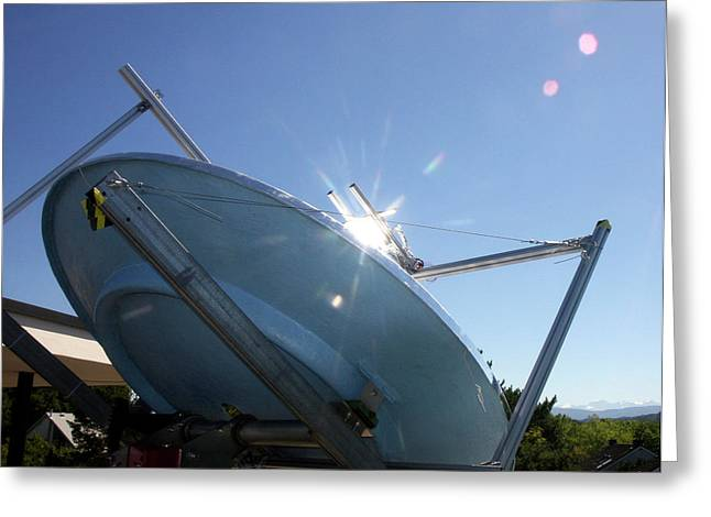 Concentrated Solar Power Greeting Card