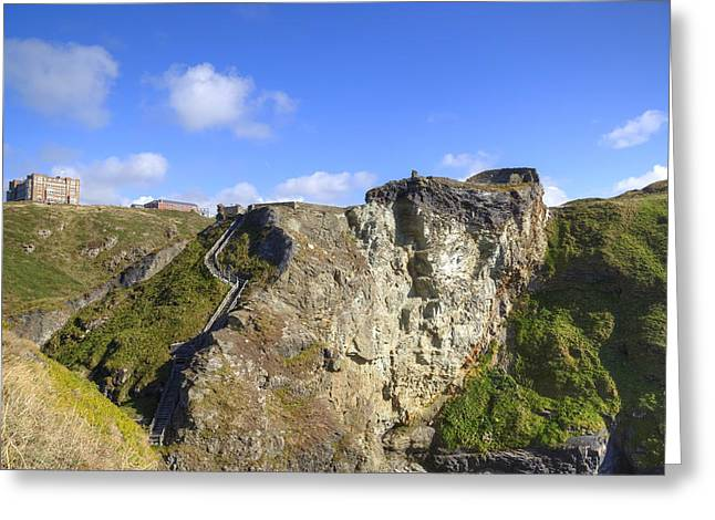 Cornwall - Tintagel Greeting Card
