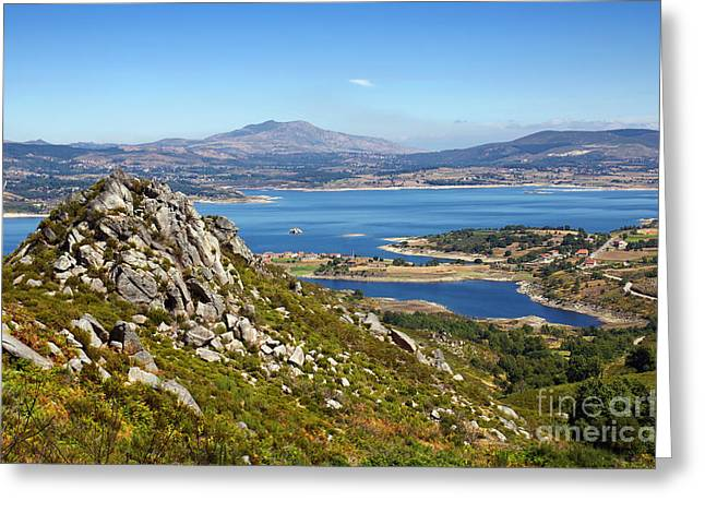 Countryside Landscape Greeting Card by Carlos Caetano
