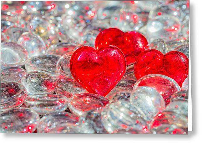 Crystal Heart Greeting Card
