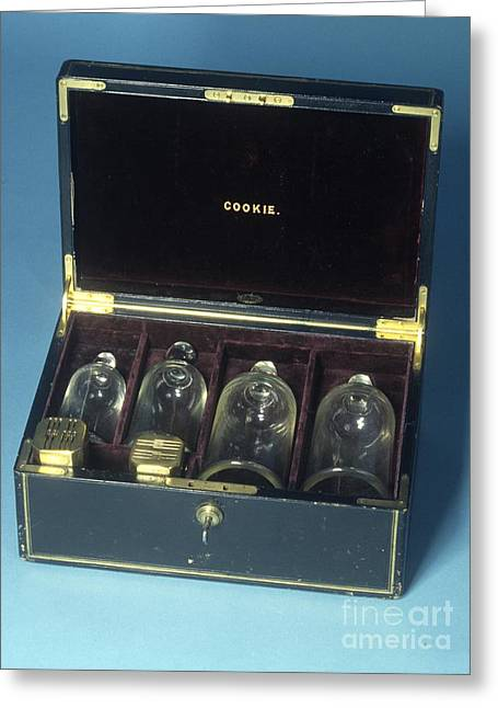 Cupping Set, 19th Century Greeting Card