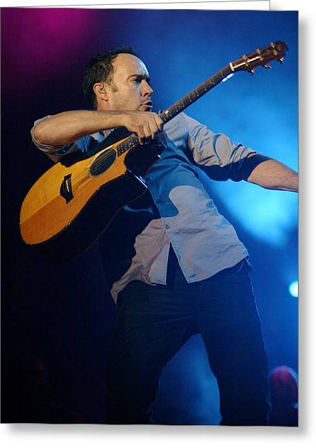 Dave Matthews Greeting Card by Don Olea