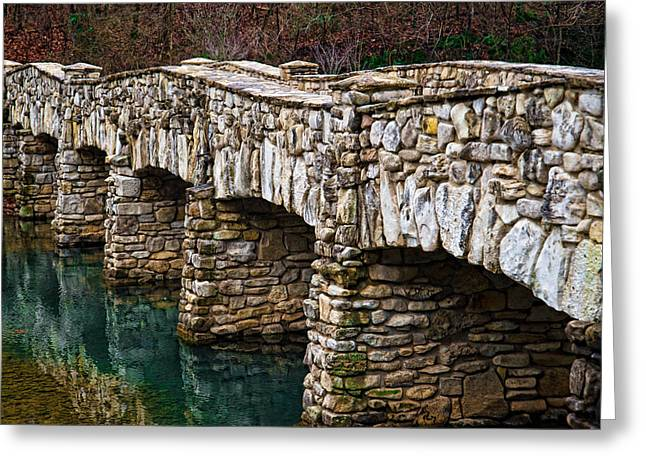 Dogwood Canyon Nature Park Near Branson Mo Greeting Card by Cindy Tiefenbrunn