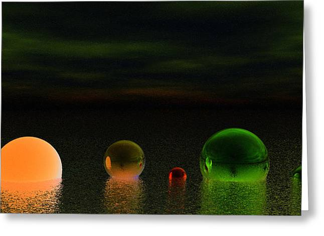 Dream Scapes Series One Greeting Card