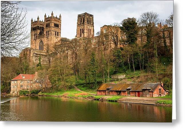 Durham Cathedral  Durham, England Greeting Card