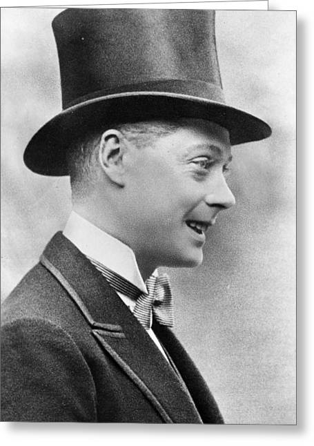 Edward Viii (1894-1972) Greeting Card