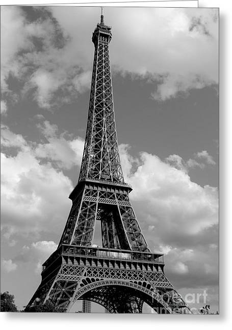 Eiffel Tower Greeting Card by Ivete Basso Photography