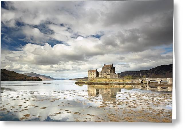 Eilean Donan Castle Greeting Card by Grant Glendinning