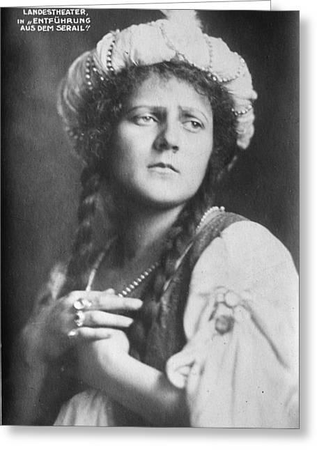 Elisabeth Rethberg (1894-1976) Greeting Card