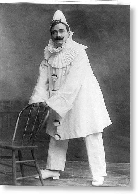 Enrico Caruso (1873-1921) Greeting Card by Granger