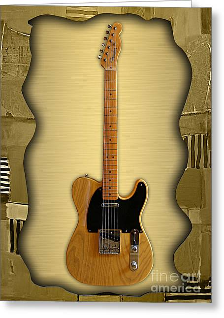 Fender Telecaster Collection Greeting Card