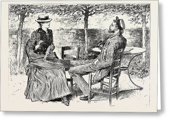 First Person Singular Greeting Card