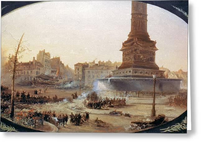 France Revolution, 1848 Greeting Card