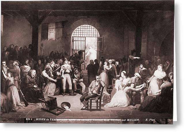 French Revolution, 1793 Greeting Card by Granger