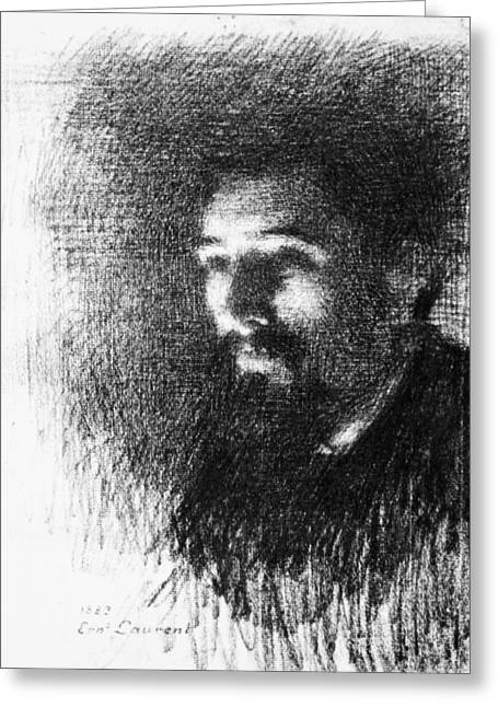 Georges Seurat (1859-1891) Greeting Card by Granger