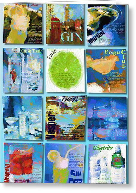 Gin Greeting Card