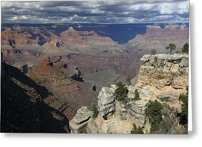 Grand Canyon Greeting Card by Gary Lobdell