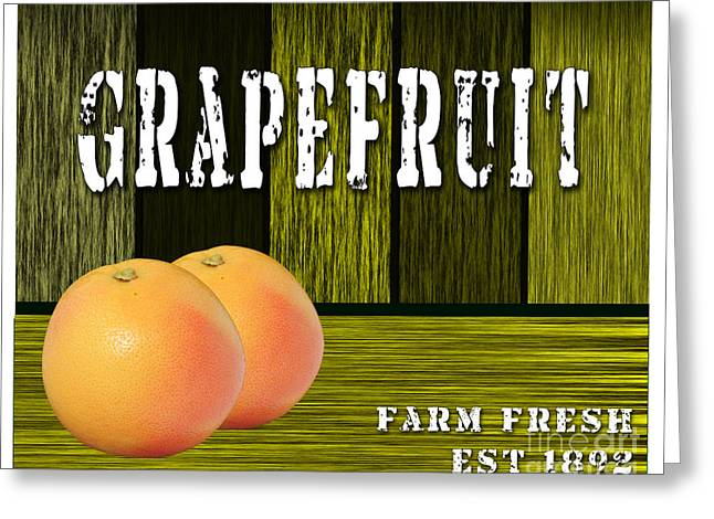 Grapefruit Greeting Card by Marvin Blaine
