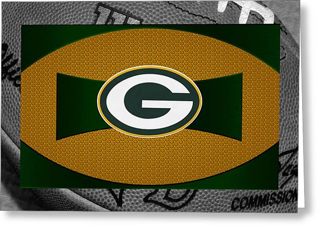Green Bay Packers Greeting Card by Joe Hamilton