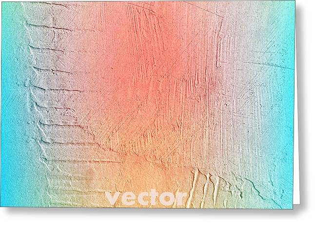 Grunge Retro Vintage Paper Texture Greeting Card