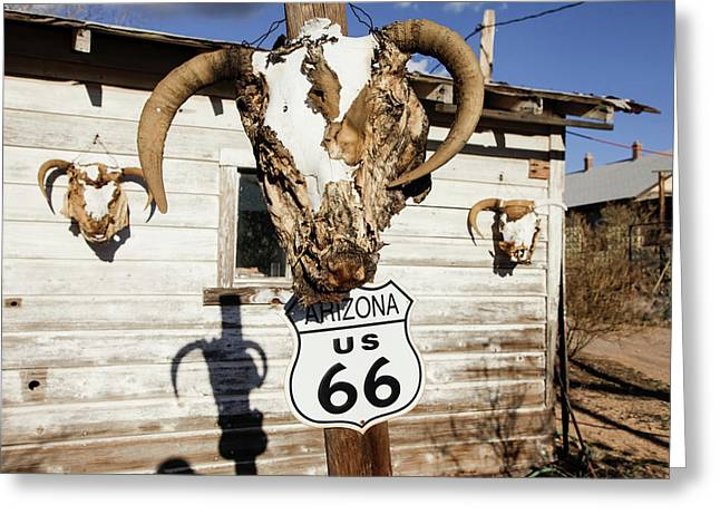 Hackberry, Arizona, United States Greeting Card by Julien Mcroberts