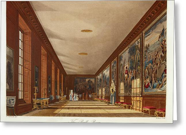 Hampton Court Greeting Card by British Library