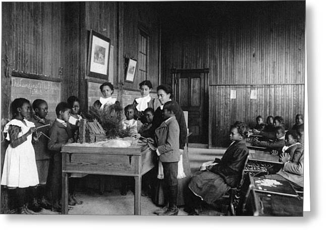 Hampton Institute, 1899 Greeting Card by Granger