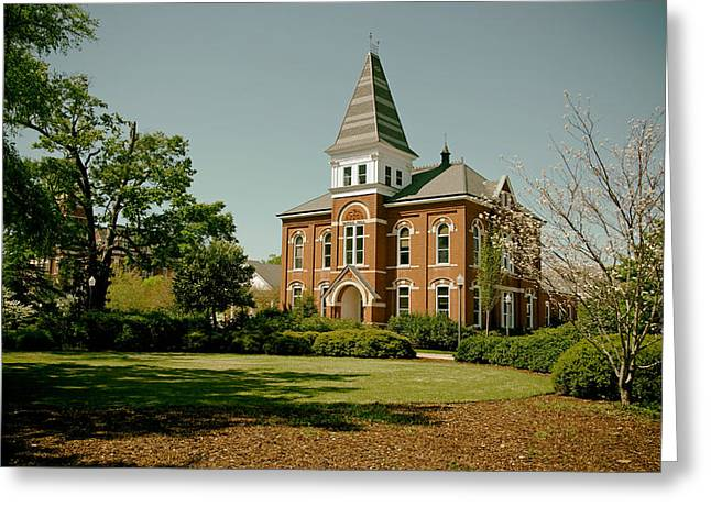 Hargis Hall - Auburn University Greeting Card by Mountain Dreams