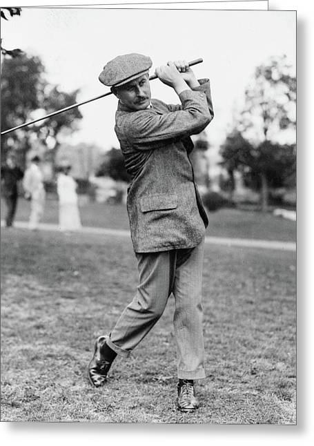 Harry Vardon (1870-1937) Greeting Card by Granger