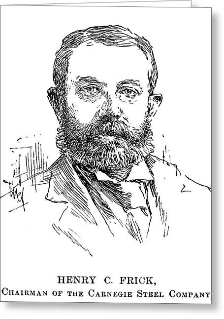Henry Clay Frick (1849-1919) Greeting Card by Granger