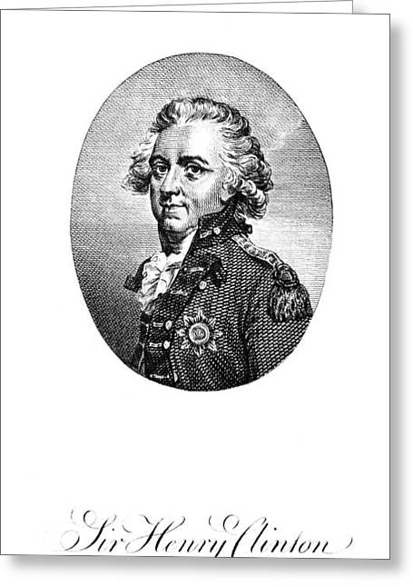 Henry Clinton (1738-1795) Greeting Card by Granger