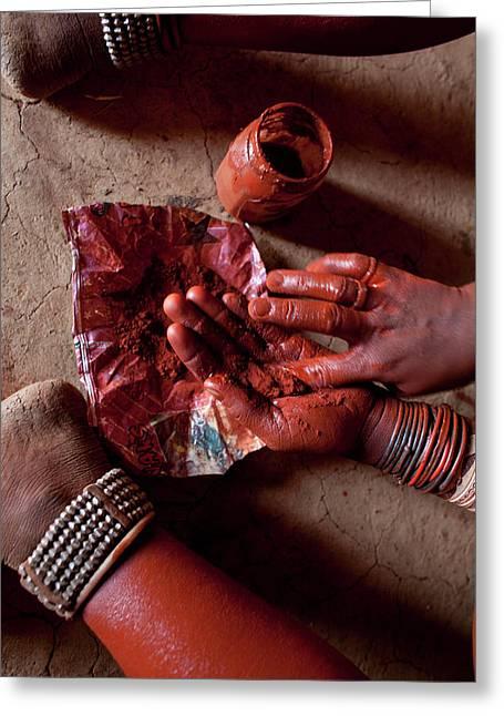 Himba Tribe Greeting Card