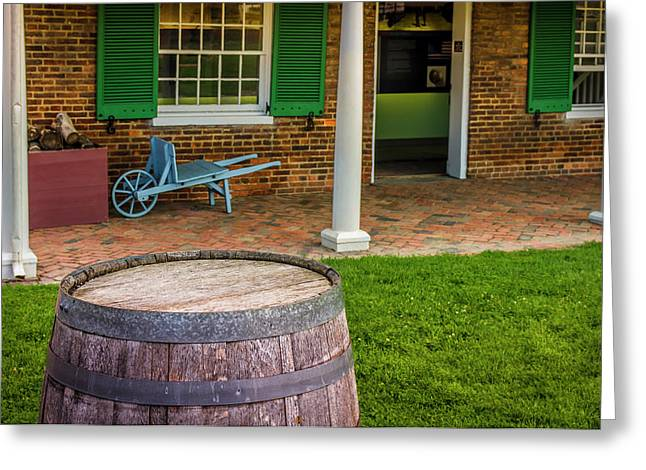 Historic Fort Mchenry, Birthplace Greeting Card by Jerry Ginsberg
