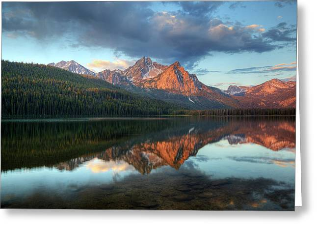 Idaho, Sawtooth National Recreation Greeting Card by Jamie and Judy Wild