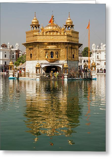 India, Punjab, Amritsar Greeting Card