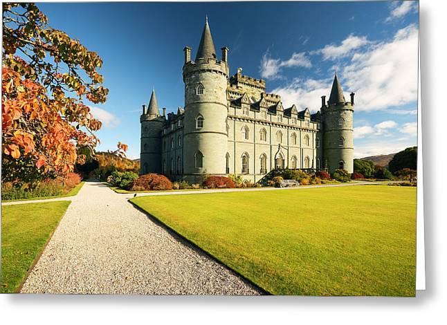 Inveraray Castle Greeting Card by Grant Glendinning
