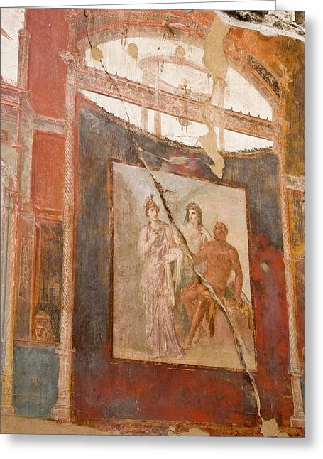 Italy, Campania, Herculaneum Greeting Card by Jaynes Gallery