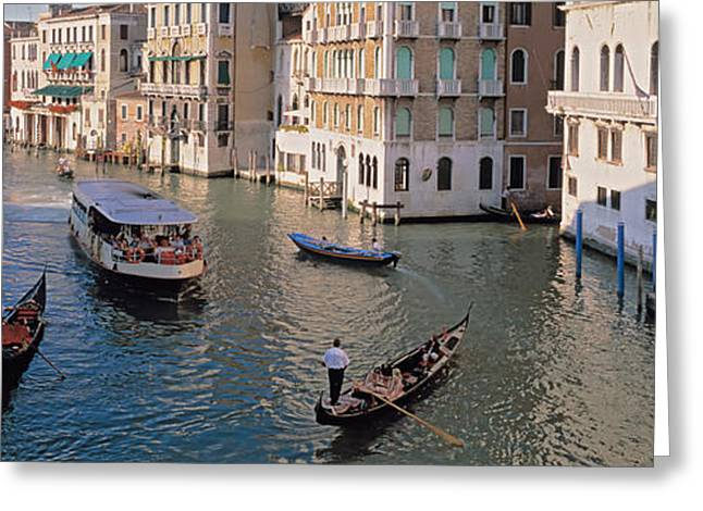 Italy, Venice Greeting Card by Panoramic Images