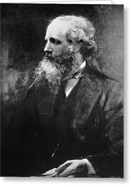 James Clerk Maxwell (1831-1879) Greeting Card by Granger